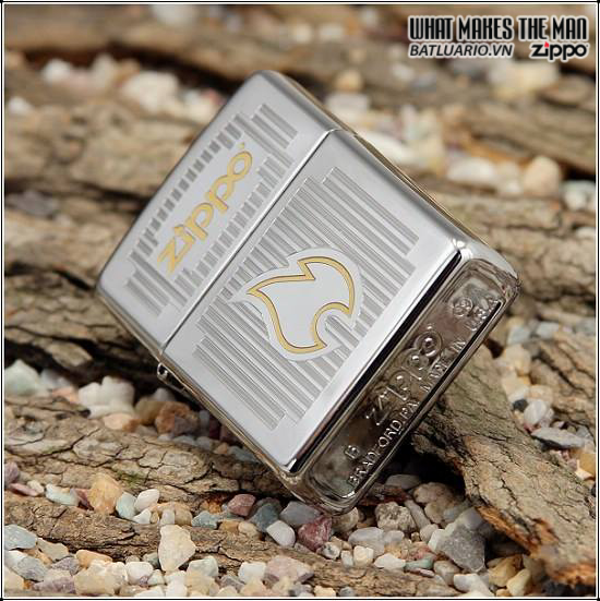Zippo 24206 – Zippo Chrome Visions High Polish Chrome