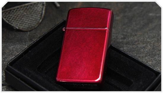 Zippo 24319 - Zippo Slim Candy Apple Red 2