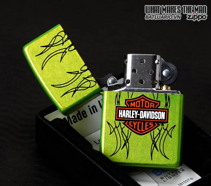 Zippo 24774 - Zippo Harley Davidson Bar and Shield Lurid