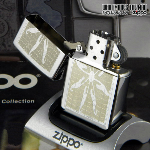 Zippo 24852 – Zippo Flower Engraved