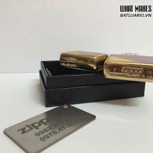 Zippo 28377 - Zippo Damask Brushed Brass
