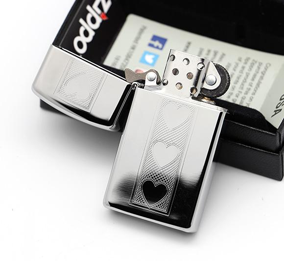 Zippo 28476 - Zippo Slim Heart Polished Chrome 2