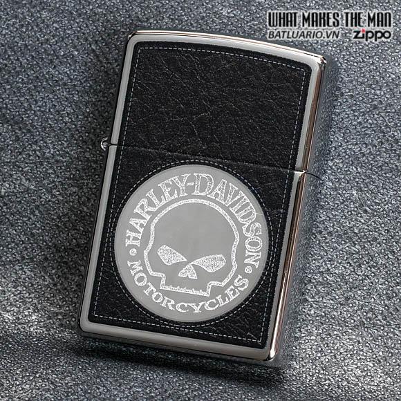 Zippo 28484 - Zippo Harley-Davidson Skull