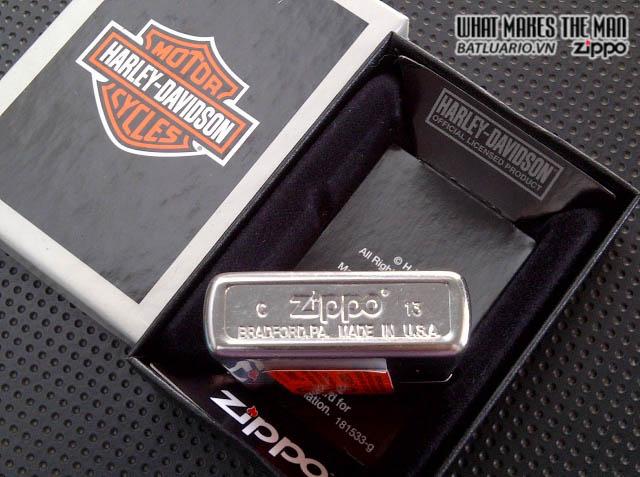 Zippo 28486 - Zippo Harley Davidson Chrome Arch