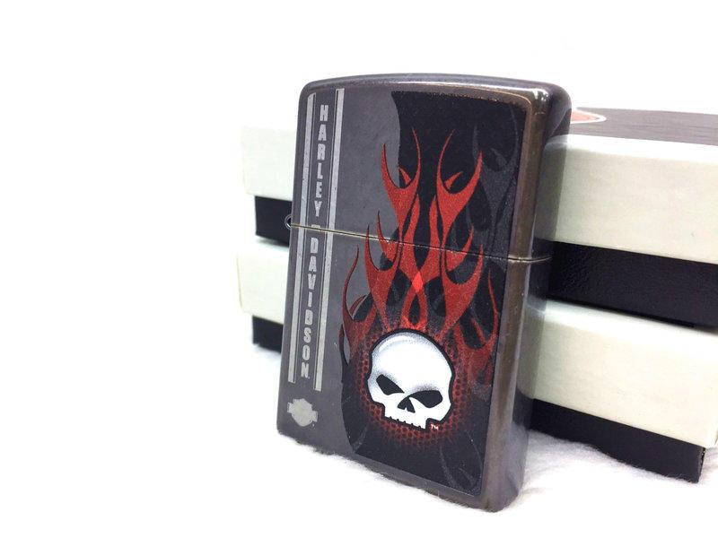 Zippo 28618 - Zippo Harley Davidson Skull Fire 2
