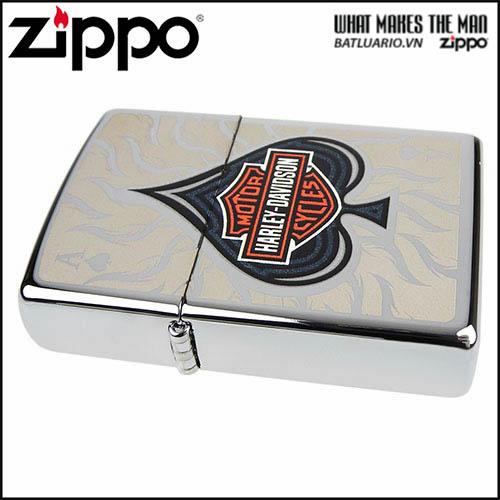 Zippo 28688 - Zippo Harley Davidson Spade 1