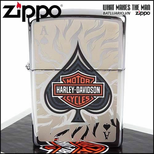 Zippo 28688 - Zippo Harley Davidson Spade