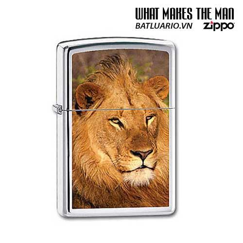 Zippo 20873 - Zippo Lion High Polish Chrome