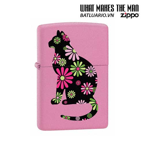 Zippo 21026 - Zippo Funky Cat Pink Matte