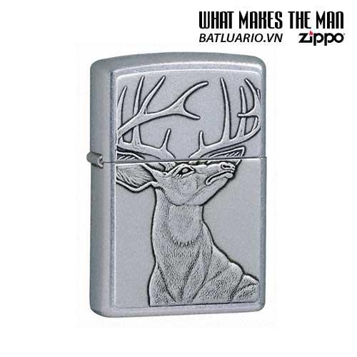 Zippo 21230 - Zippo Deer Emblem Street Chrome