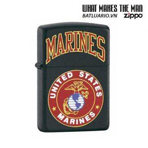 Zippo 218.539 - Zippo US Marines Black Matte