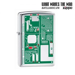 Zippo 24329 - Zippo Circuit Board Polished Chrome