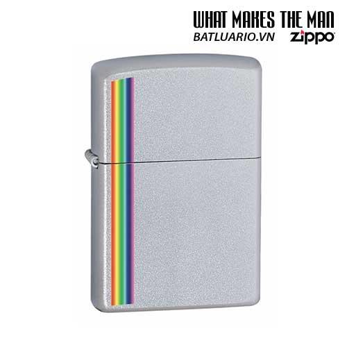 Zippo 24340 - Zippo Lighter Colorz Satin Chrome