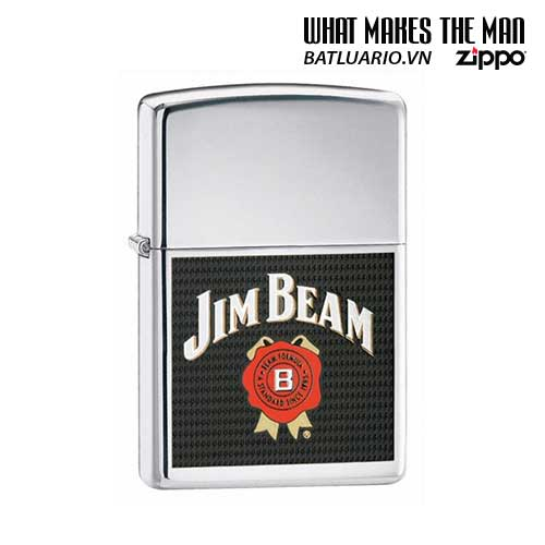 Zippo 24552 - Zippo Jim Beam High Polish Chrome