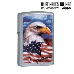 Zippo 24764 - Zippo Mazzi Freedom Watch Street Chrome