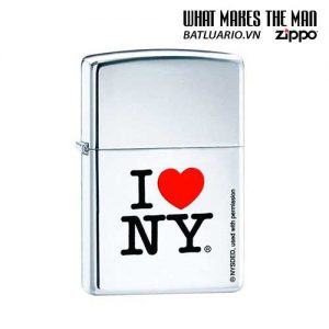 Zippo 24799 - Zippo I Love New York High Polish Chrome
