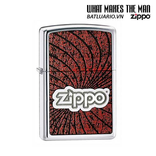 Zippo 24804 - Zippo Waves High Polish Chrome