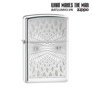 Zippo 24903 - Zippo Webbed High Polish Chrome