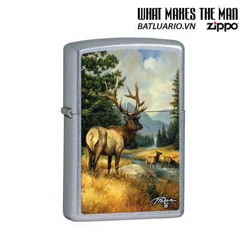 Zippo 28008 - Zippo Linda Picken Elk Street Chrome