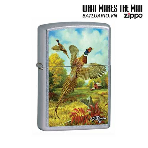 Zippo 28010 - Zippo Linda Picken Flying Pheasants Street Chrome