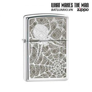 Zippo 28052 - Zippo Hidden Spider High Polish Chrome