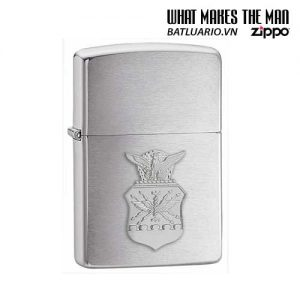 Zippo 280AFC - Zippo Air Force Crest Emblem Brushed Chrome