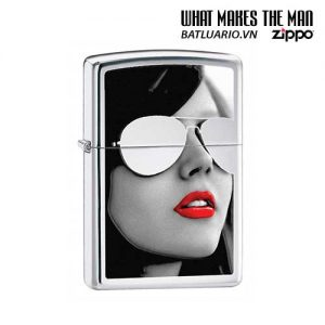 Zippo 28274 - Zippo Sunglasses High Polished Chrome