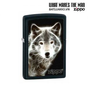 Zippo 28303 - Zippo White Wolf Black Matte