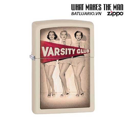 Zippo 28441 - Zippo Varsity Club Cream Matte