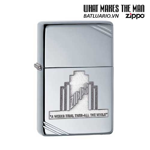 Zippo 28451 - Zippo A Weeks Trial Polished Chrome