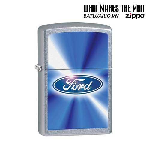 Zippo 28455 - Zippo Ford Blue Street Chrome