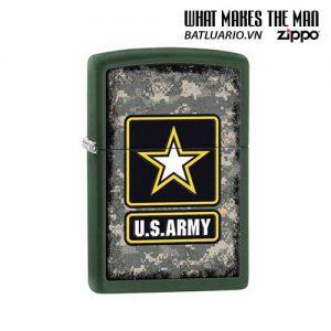 Zippo 28631 - Zippo Army US Star Green Matte