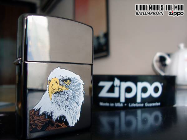 Zippo 20165 – Zippo Eagle Black Ice