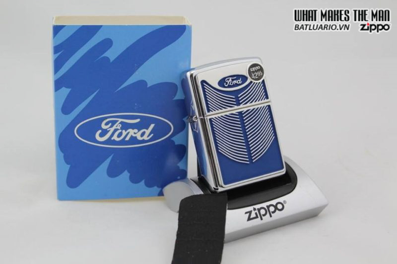 Zippo 20428 – Zippo Ford Grill High Polish Chrome