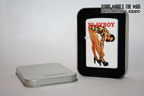 Zippo 20497 – Zippo Playboy Retro Girl White Matte