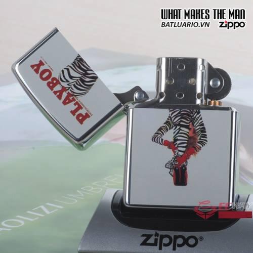 Zippo 20498 – Zippo Playboy Magazine Cover Zebra Pants