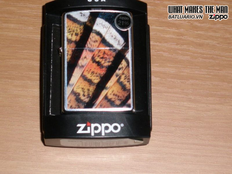 Zippo 20618 – Zippo That's Grouse Brushed Chrome