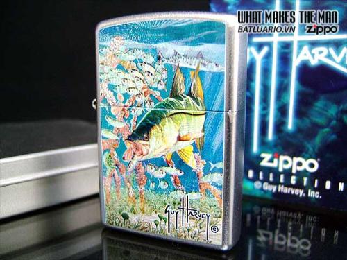 Zippo 20624 – Zippo Guy Harvey Snook Satin Chrome