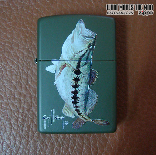 Zippo 20625 – Zippo Guy Harvey Bass Green Matte 1