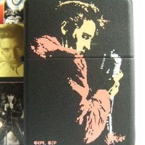 Zippo 20863 - Zippo Elvis Presley Black Matte Regular Petrol 2