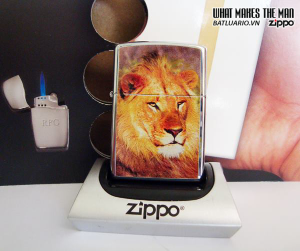 Zippo 20873 – Zippo Lion High Polish Chrome