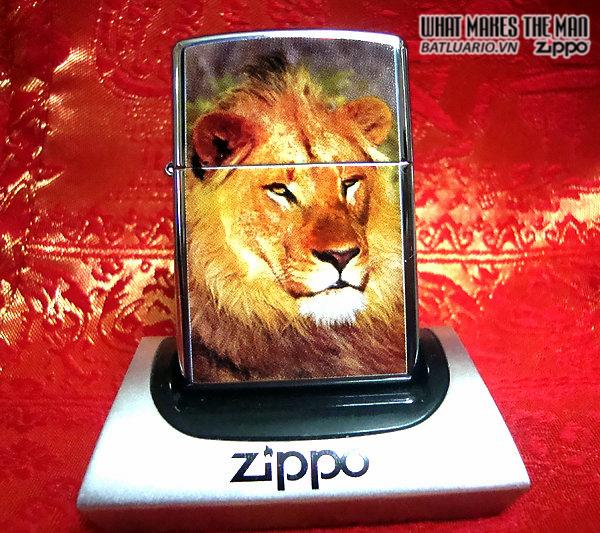 Zippo 20873 – Zippo Lion High Polish Chrome 1