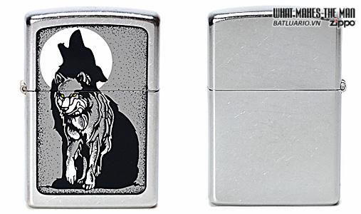 Zippo 21012 – Zippo Grey Wolf Street Chrome