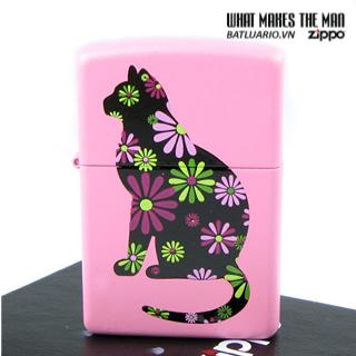 Zippo 21026 – Zippo Funky Cat Pink Matte 1