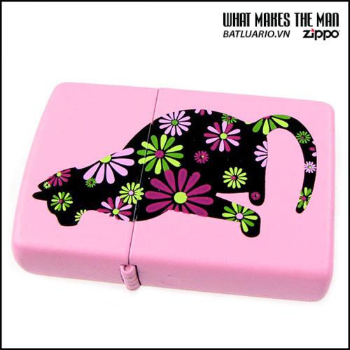 Zippo 21026 – Zippo Funky Cat Pink Matte