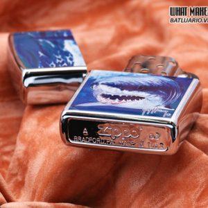 Zippo 21052 – Zippo Guy Harvey Shark Brushed Chrome