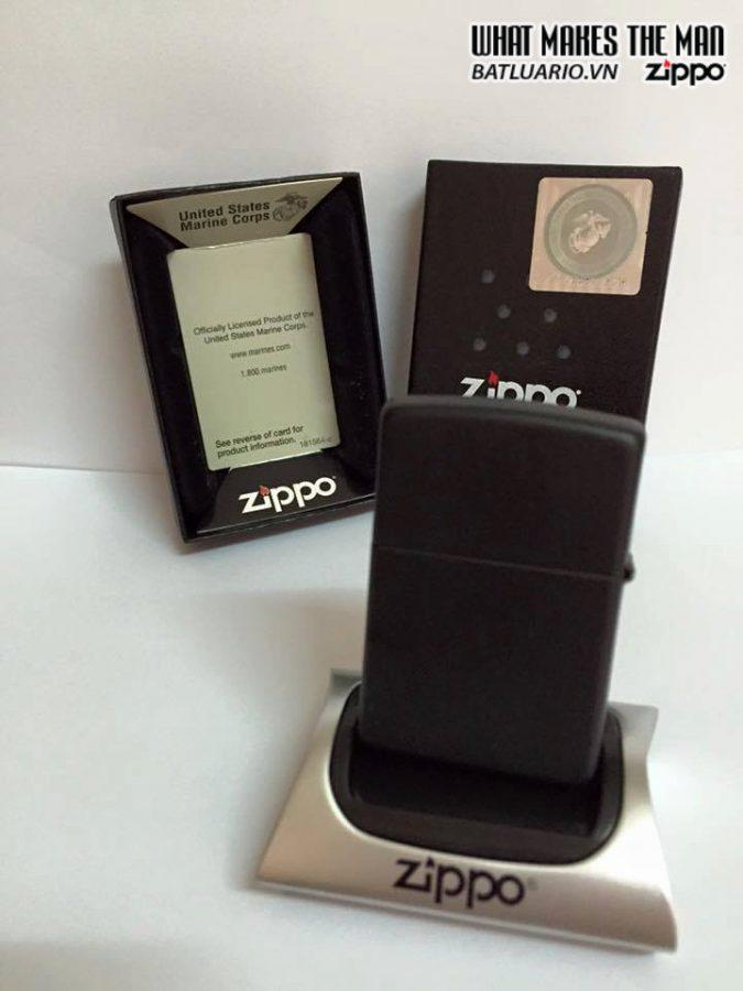 Zippo 218.539 – Zippo US Marines Black Matte 2
