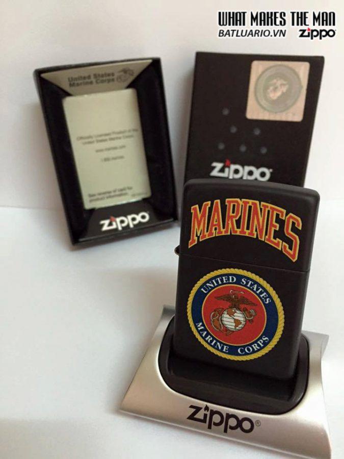 Zippo 218.539 – Zippo US Marines Black Matte 1