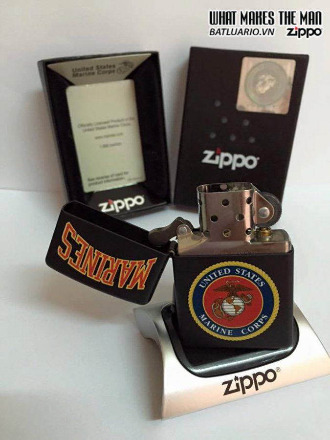 Zippo 218.539 – Zippo US Marines Black Matte 4