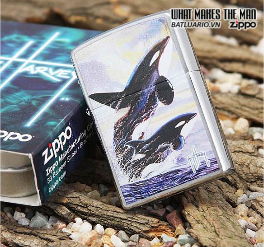 Zippo 24305 – Zippo Guy Harvey Killer Whales